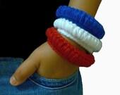 Crochet Bracelet Pattern, Tyre Bangle, Cool Designer Jewelry Pattern, Crochet Crafts, Bracelet Instructions Tutorial, Crochet Bangle Pattern