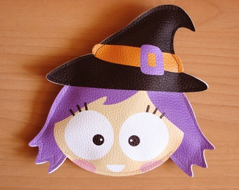 Purple Witch -Purse- Trick or Treat