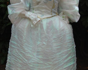 Labyrinth inspired Ball Gown with matching Headpiece Size M/L Sale
