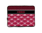 """Personalized Monogram iPad™ or NetBook Laptop Sleeves - 10""""- Any design and many colors available"""