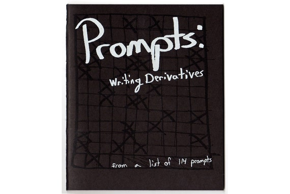 Prompts: Writing Derivatives - zine