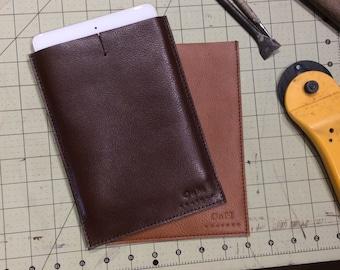 Leather ipad mini sleeve