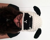 Crocheted Animal Hats Sheep Beret Cap for her