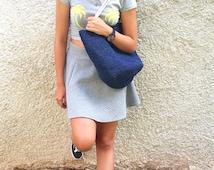 Large Beach Bag, Burlap Bag,Drawstring Bag, Handbags Raffia Yarn Bags