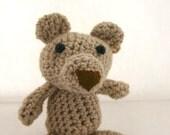 Pup Dog crochet animal stuffed amigurumi cute gift