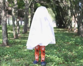 Orange Skeleton Baby Toddler Leg Warmers