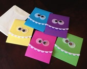 Silly Monster Cards