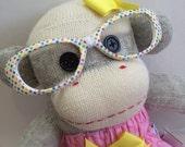 Minnie the Sock Monkey