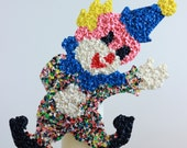 Vintage Clown Melted Popcorn Wall Decor CIRCUS