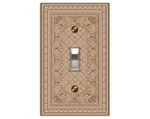 0769b   Persian Rug Bkgd  mrs butler switchplates   (Choose size/price from dropdown)