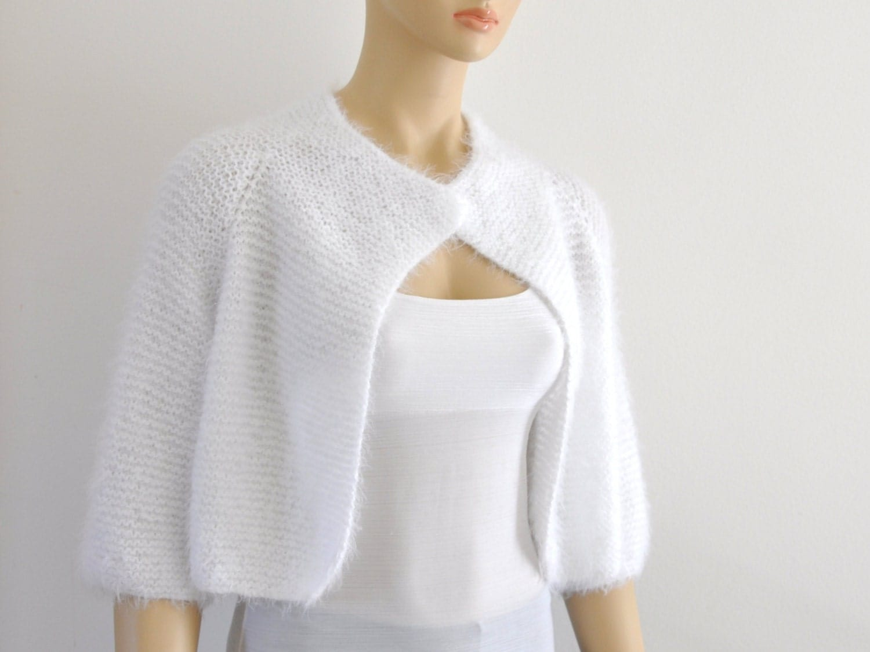 white bridal bolero shrug bolero wedding jacket bridal. Black Bedroom Furniture Sets. Home Design Ideas