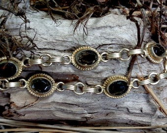 Smokey Quartz Vintage Bracelet - 7214