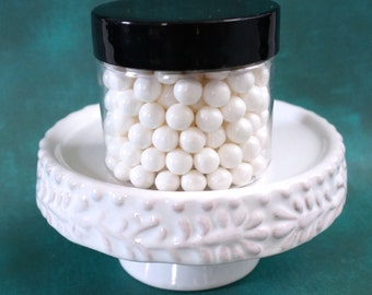 White Sugar Pearls, 5 mm