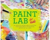 Paint Lab for Kids Book - SIgned Copy