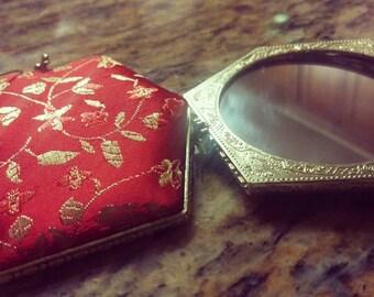 Red Chinese mirrors