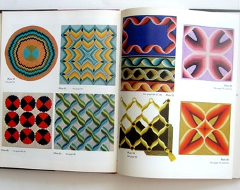 Vintage Book Four Way Bargello Dorothy Kaestner Needlepoint Craft Book Hardcover DYI 1970s