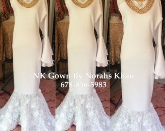 NK Rose Bottom Gown