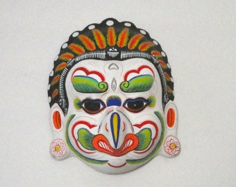 Colorful Plaster Mask