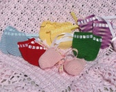 Baby No scratch mittens, gloves, hand mitts are available in green, purple, red, yellow, pink, and blue