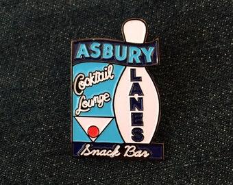 Asbury Lanes Enamel Pin