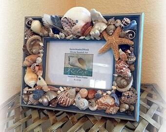 Oceans Bounty Seashell Frame