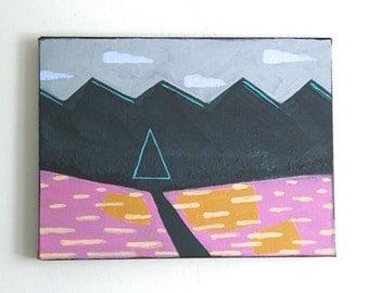 Fields - Original Acrylic Painting