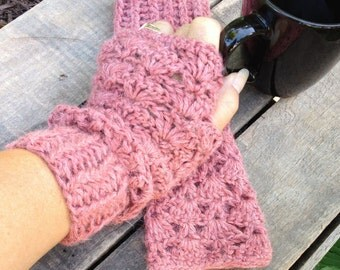 Fingerless Alpaca Gloves, Fingerless Mitts, Arm Warmers, Hand Warmers, Wristers, Baby Alpaca Gloves
