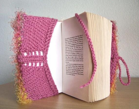 Book Cover Pattern, Knitting Pattern, Journal Cover Pattern, Easy Knitting Pattern, Beginner Knitting Pattern
