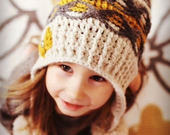 Pamela hat Crochet Pattern