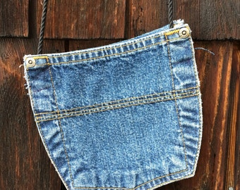 3-Pocket Denim Purse