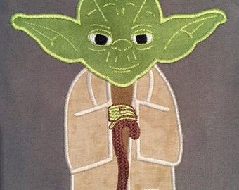 Yoda applique design.