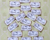 Thank you STICKERS- Alice in Wonderland CROWNS- Gorgeous designs Adhesive paper crown letter seals Alice in Wonderland thank you stickers