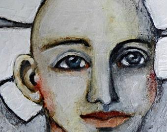 Holy Spirit-Sancti Spiritus-Original Portrait Painting