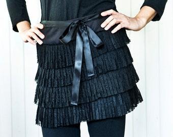 Ruffled skirt, MANGO