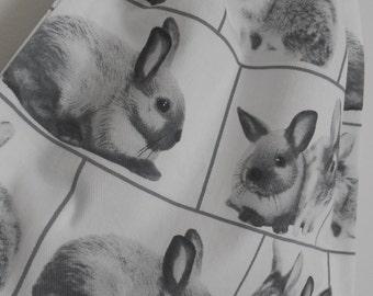 Small Rabbit Drawstring Bag, Charger Bag, Snack Bag, Toy Bag, Shoe Bag, Nappy Bag, Made In Australia, Reusable Gift Bag
