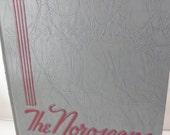 Vintage 1955 Flint Northern Yearbook The Noroscope Mid-Century