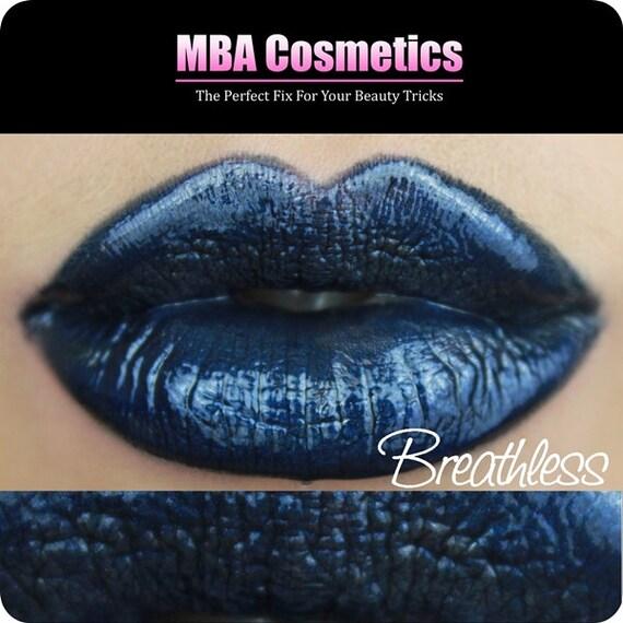 Blue Lip Gloss-Sugar Babies Jojoba Lip Glaze-Pink Sugar Rush Flavor-Breathless