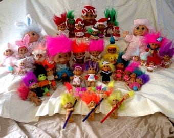 PRICE REDUCTION- Huge Russ Troll collection!