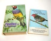 Finches And Soft-Billed Birds, Vintage Bird Books