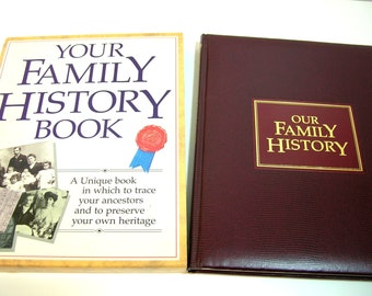 Your Family History Book, Preserving Your Family History