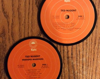 Ted Nugent Coasters (2)