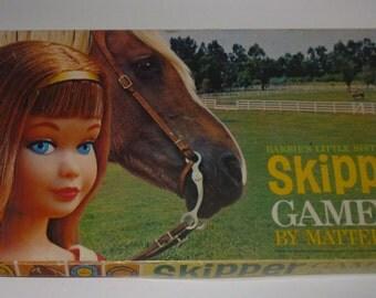 Vintage Barbie's Little Sister Skipper Board Game
