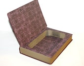 Hollow Book Safe The Guide Series A Guide To Pictures Cloth Bound vintage Secret Compartment Security hiding place