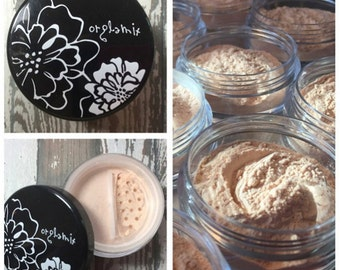 Whole Grain, Adjustable Foundation, Mineral Foundation, Natural Foundation, Adjustable Coverage, Makeup Artist Approved