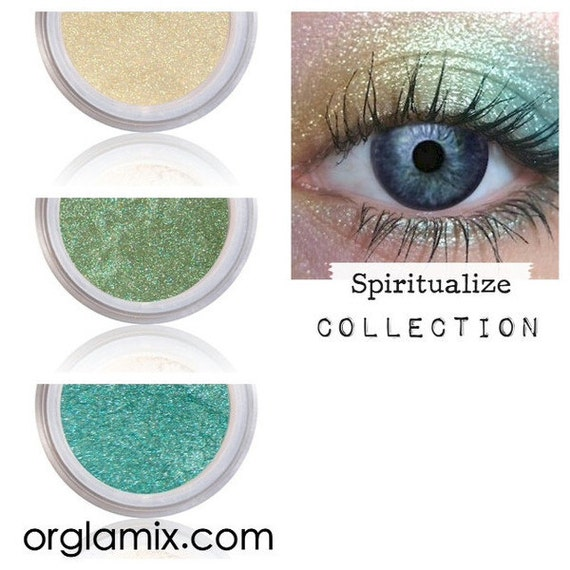 Eyeshadow Kit Palette | SPIRITUALIZE | Mix - Match - Layer | Natural Mineral Eye Colors | Natural Eco Pure Organic Better Than MAC Cosmetics