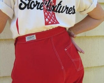 Vintage 50's High Waisted Shorts