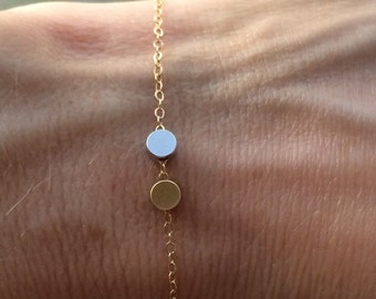 Lil Trinkets double circle Bracelet