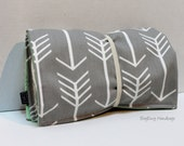 Grey Arrow Changing Pad - Or Custom To Match Your Bag