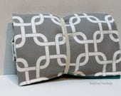 Grey Gridlock Links Changing Pad - Or Custom To Match Your Bag