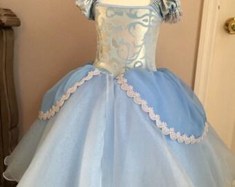 Size 8 Cinderella ballgown